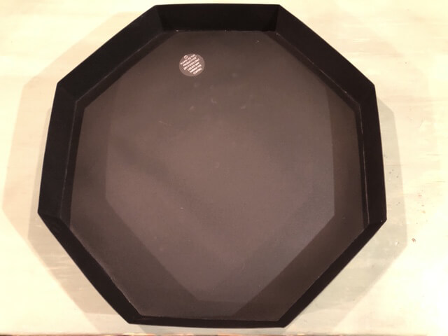 Dienblad zwart